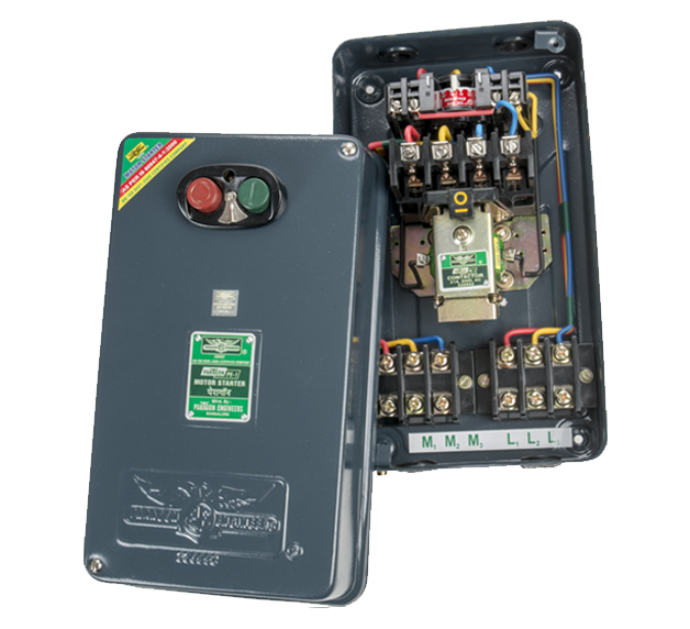 Submersible pump control panel thermal overload relays star delta connector type dol air brake motor starter asfbconference2016 Choice Image
